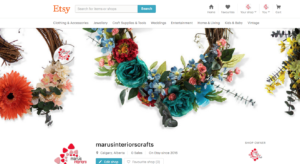 Maru's Interiors Craft on Etsy.ca